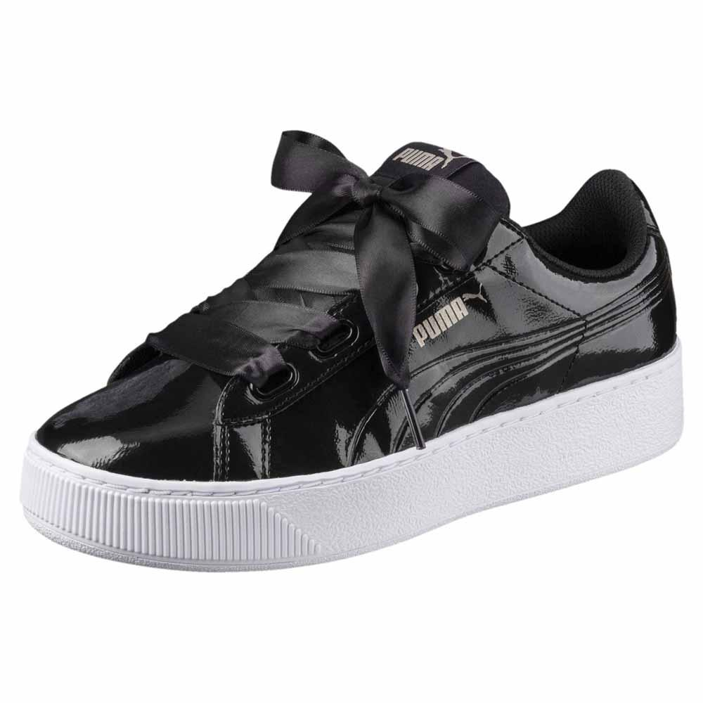796134c4ab4 Puma Vikky Platform Ribbon P Black buy and offers on Dressinn