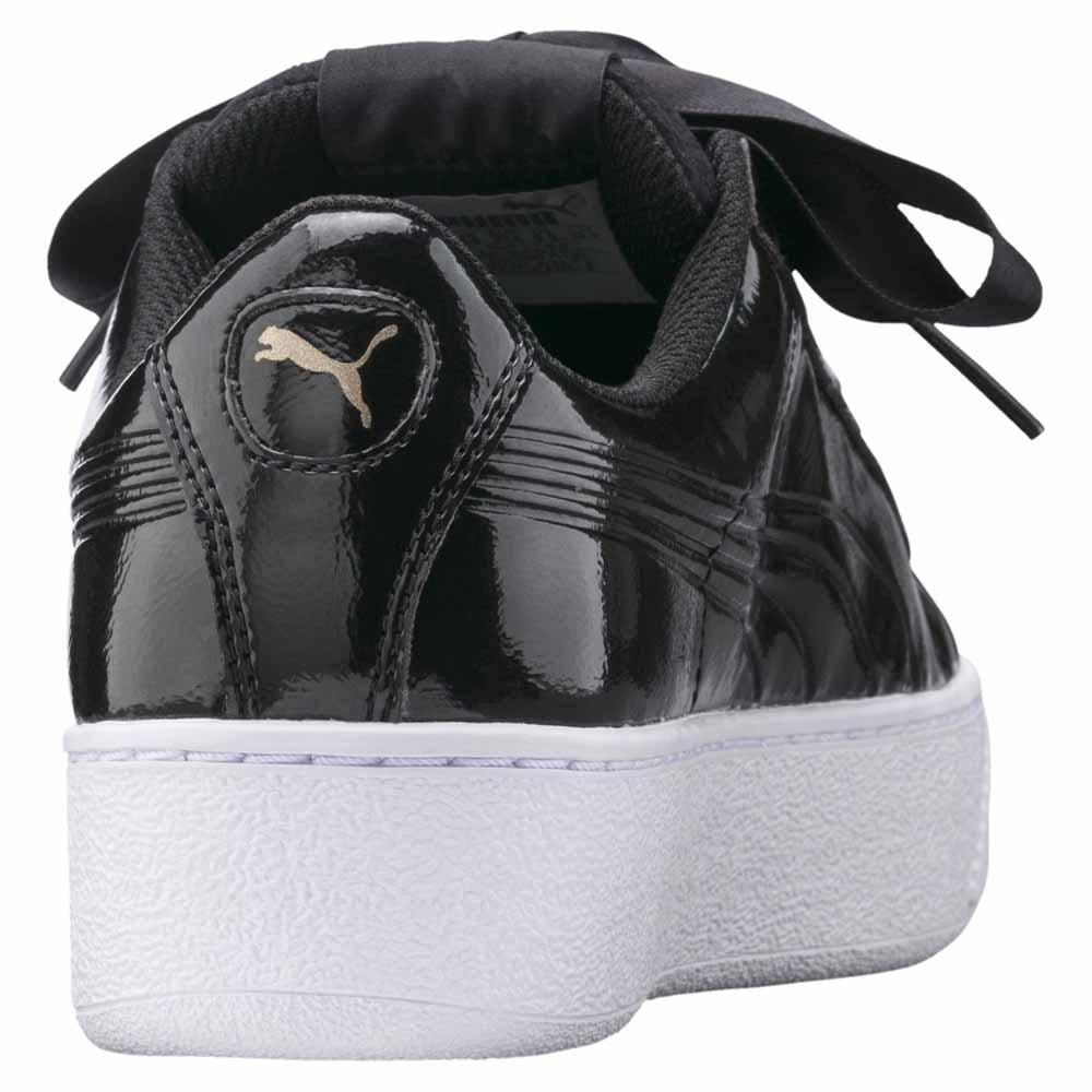 a20f5e1247b1 Puma Vikky Platform Ribbon P Black buy and offers on Dressinn