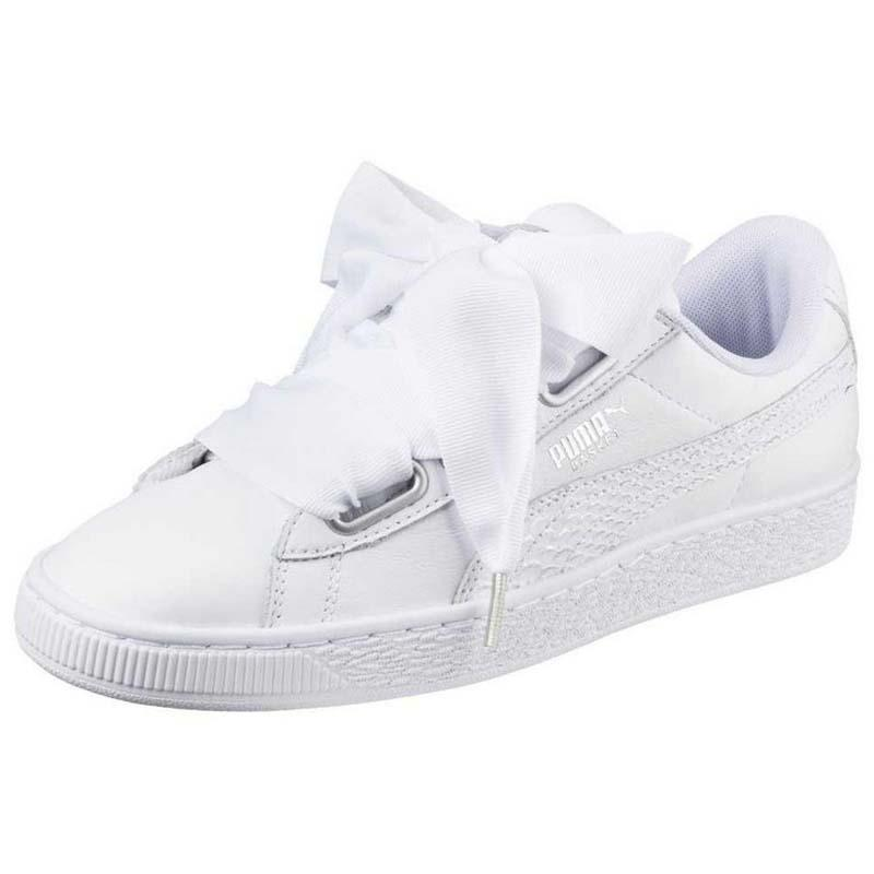 81cfc85e5df6e7 Puma select Basket Heart Oceanaire White
