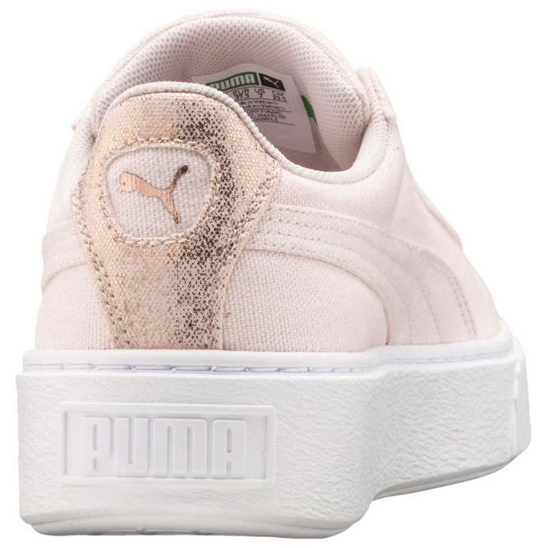 Puma select Basket Platform Canvas Pink
