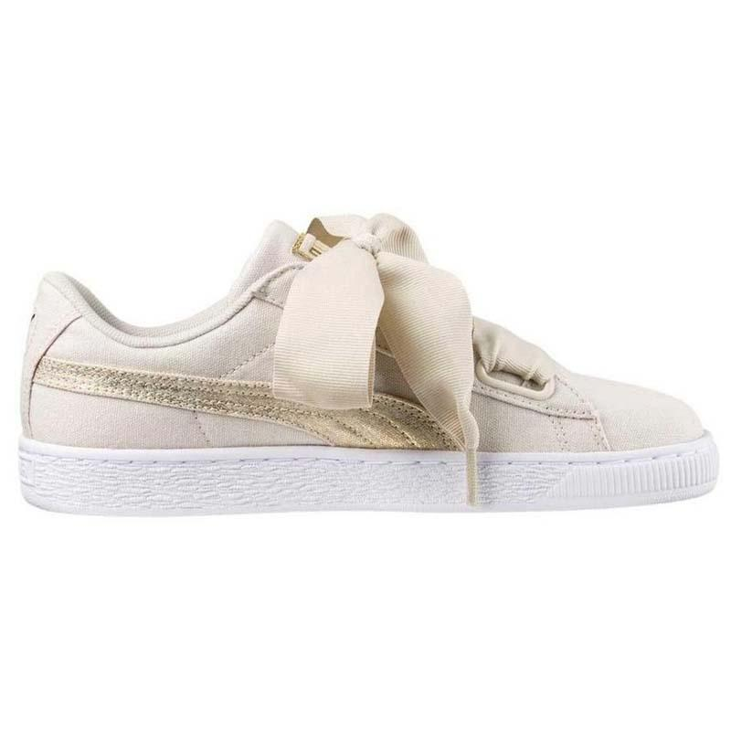 puma heart canvas
