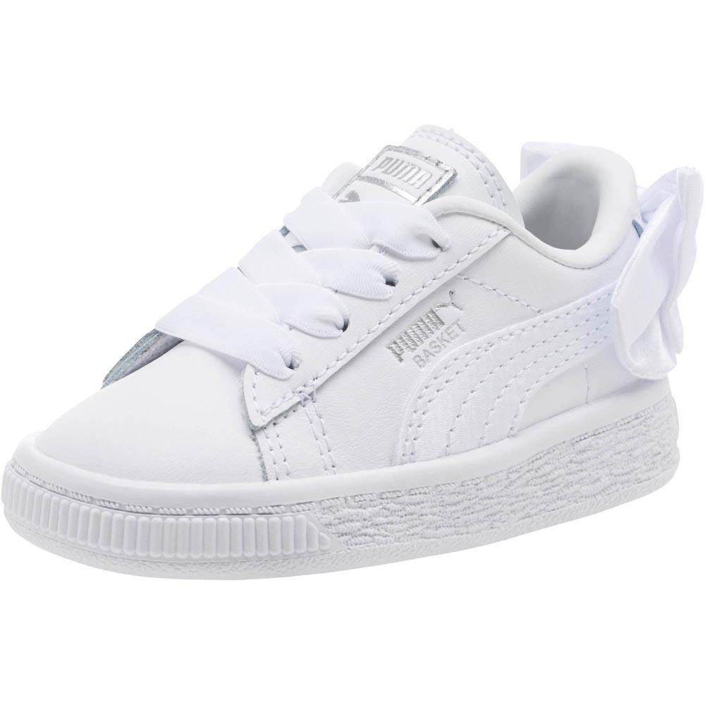 c65570fc1052b8 Puma select Basket Bow AC Inf White buy and offers on Dressinn