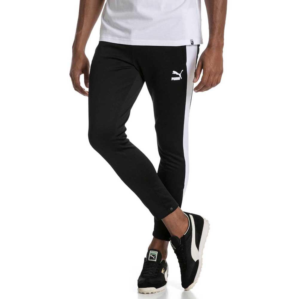 c19ad25cf8e0 Puma T7 Vintage Track Pants Black buy and offers on Dressinn