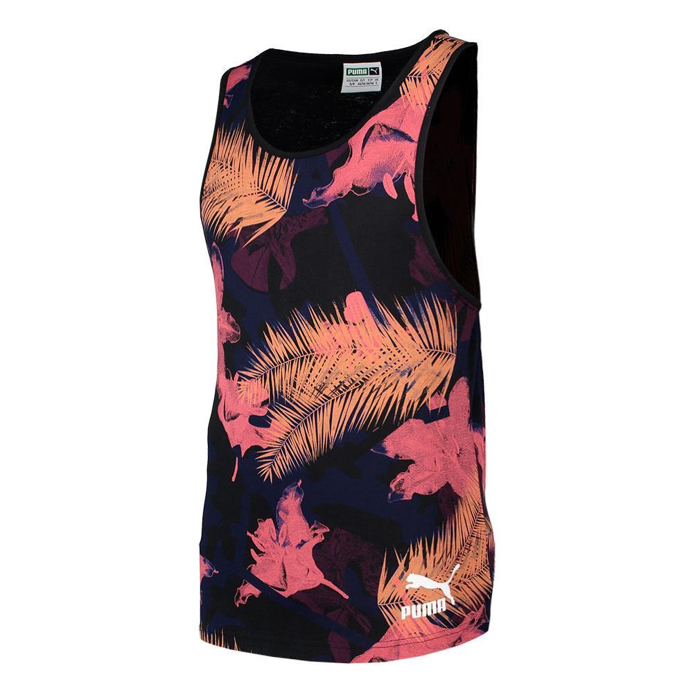 Puma Summer Tropical Preto comprar e ofertas na Dressinn T-shirts 301e4f8f0e560