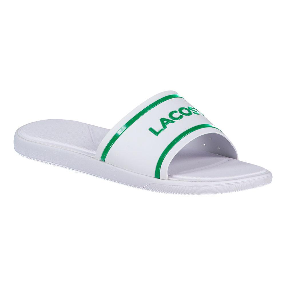d4492bb3e77c85 Lacoste L.30 Slide 118 2 White buy and offers on Dressinn