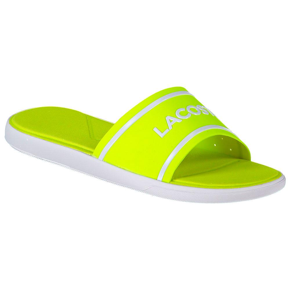 efc6efb973bfdf Lacoste L.30 Slide 218 1 Yellow buy and offers on Dressinn