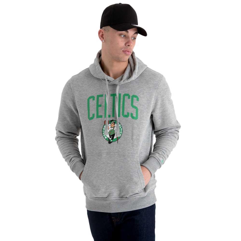 8e248663a47c3 New era Team Logo Sudadera Boston Celtics Gris