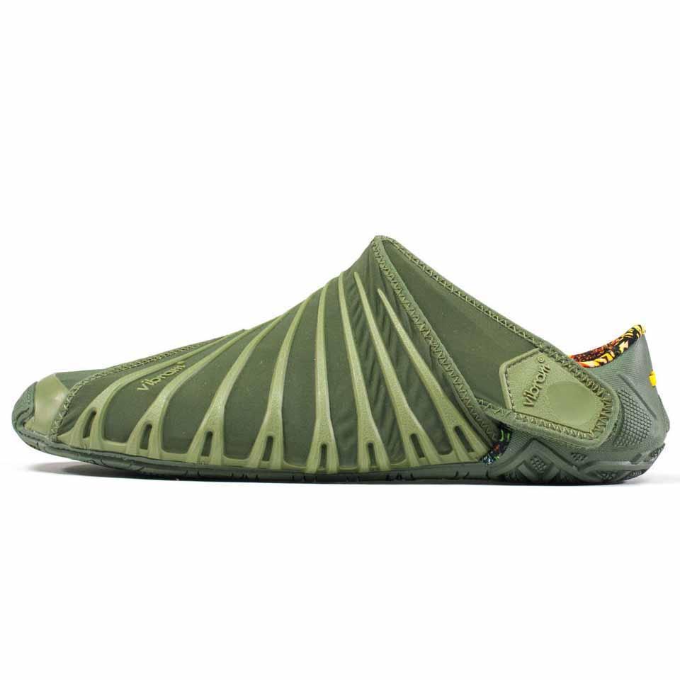 Vibram Furoshiki Original, Sneakers Basses Homme, Vert (Olive), 41 EUVibram Fivefingers