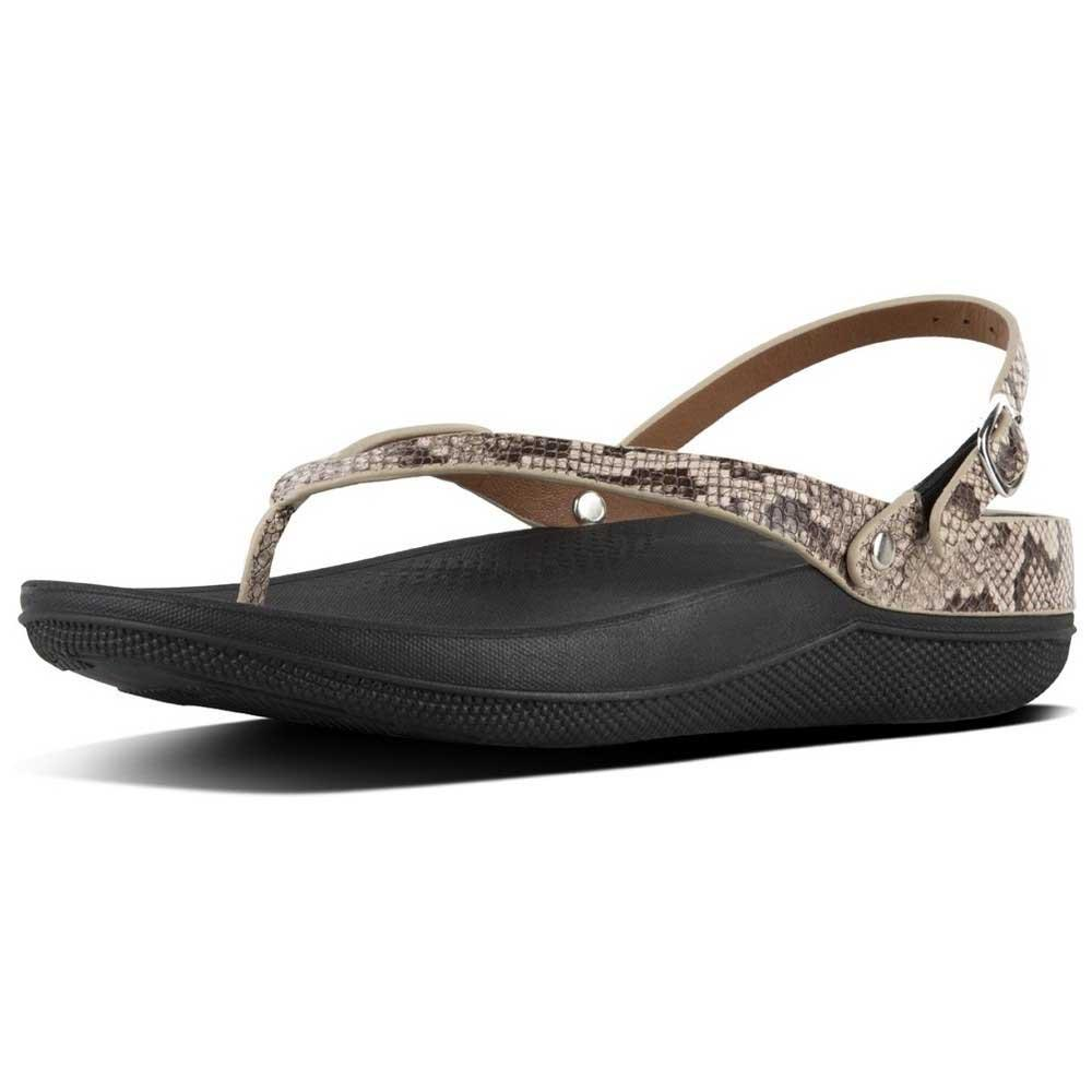 6caf6f977 Fitflop Flip Leather Brown buy and offers on Dressinn