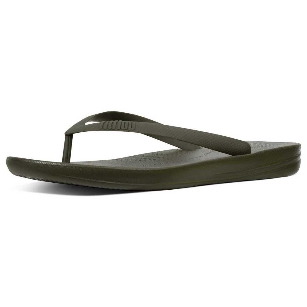 ddc903a7bc52f Fitflop Iqushion Ergonomic Green buy and offers on Dressinn