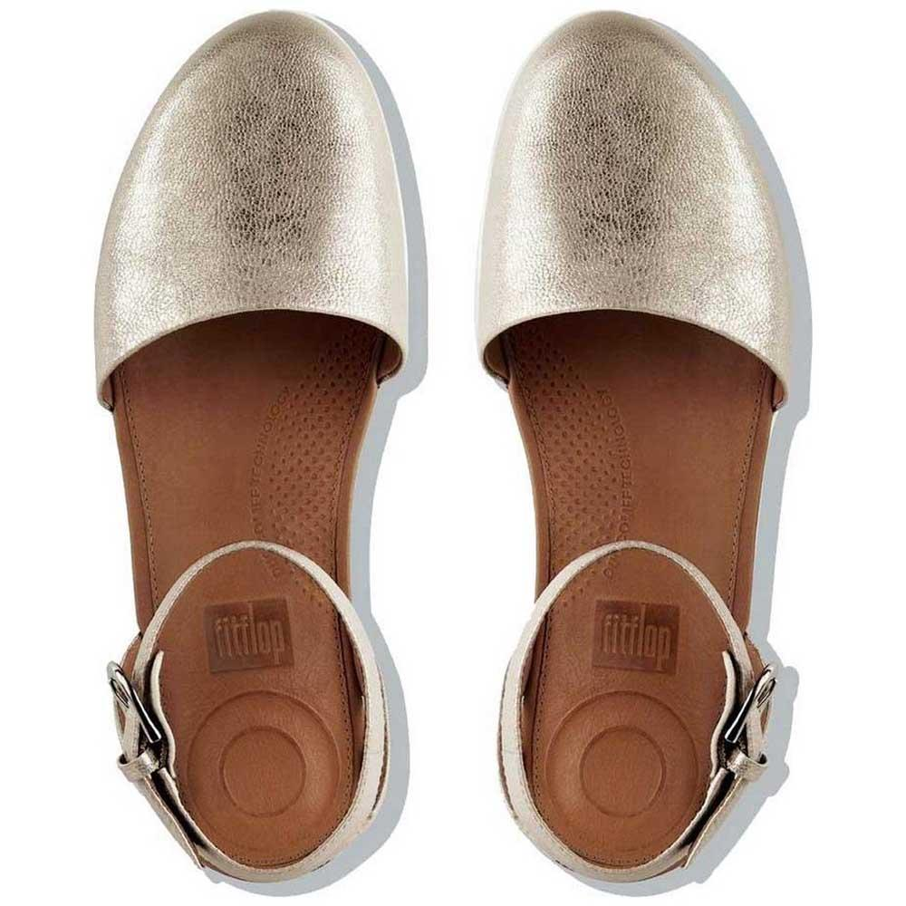 7864f1b62d59 Fitflop Cova Closed Silver buy and offers on Dressinn