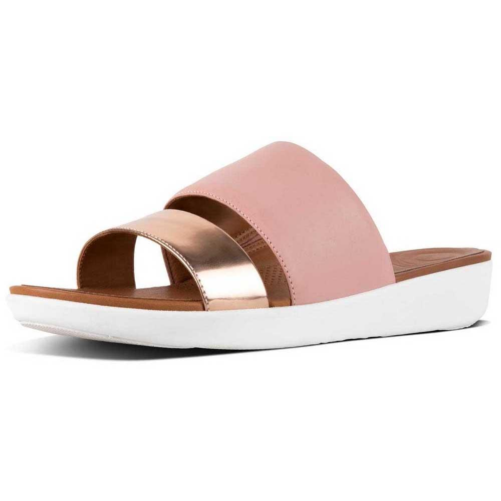 273ca4e41b879 Fitflop Delta Slide Pink buy and offers on Dressinn