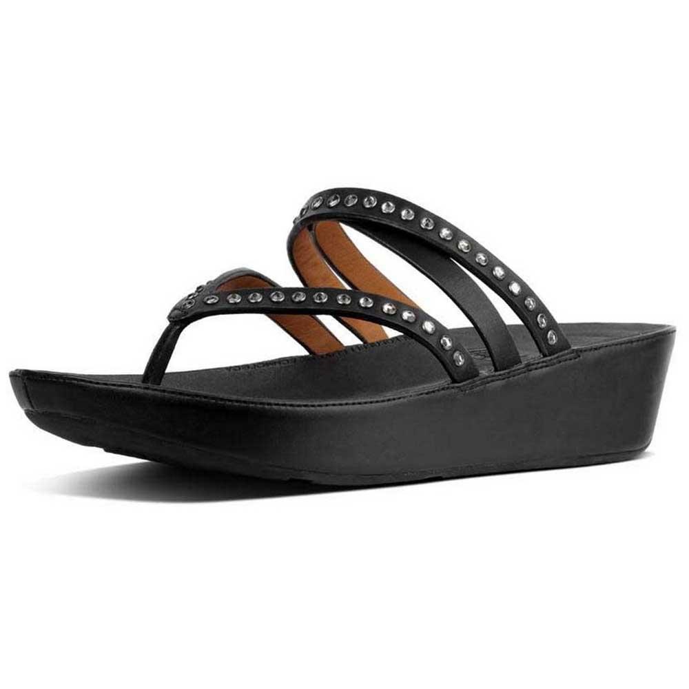 28154e99ca8f Fitflop Linny Criss Cross Toe Black buy and offers on Dressinn