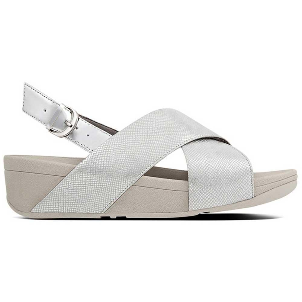 bbad81392613 Fitflop Lulu Cross Back Silver buy and offers on Dressinn