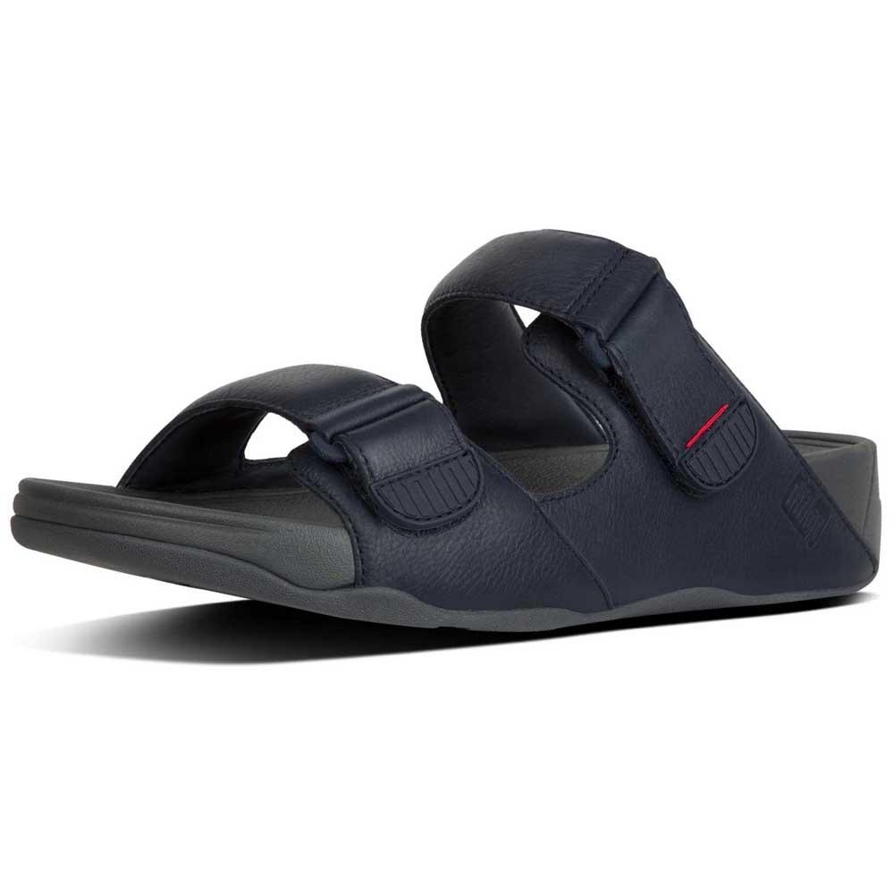 fb3ec439b44508 Fitflop Gogh Moc Slide - Blue buy and offers on Dressinn