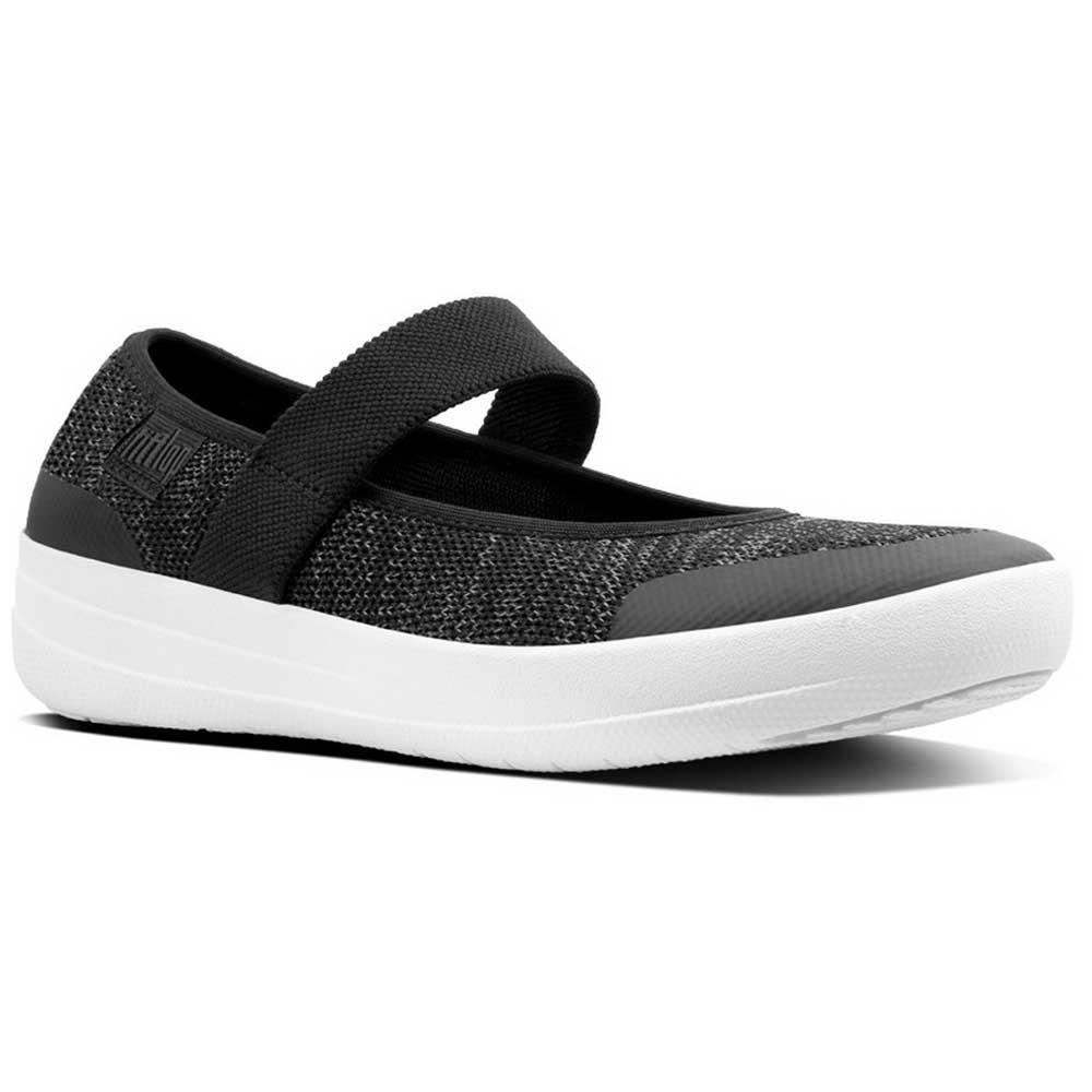 9282cc76763685 Fitflop Uberknit Mary Janes Black buy and offers on Dressinn