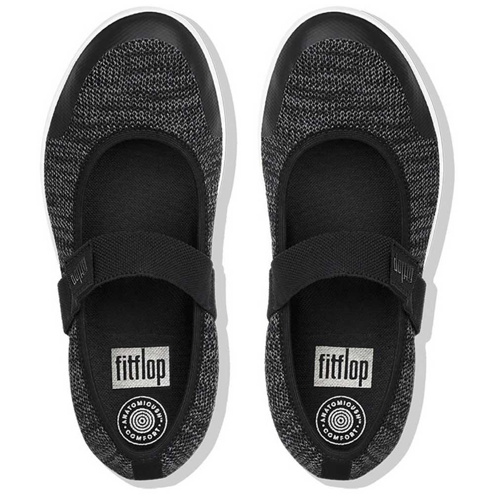 977c34050420d3 Fitflop Uberknit Mary Janes Black buy and offers on Dressinn