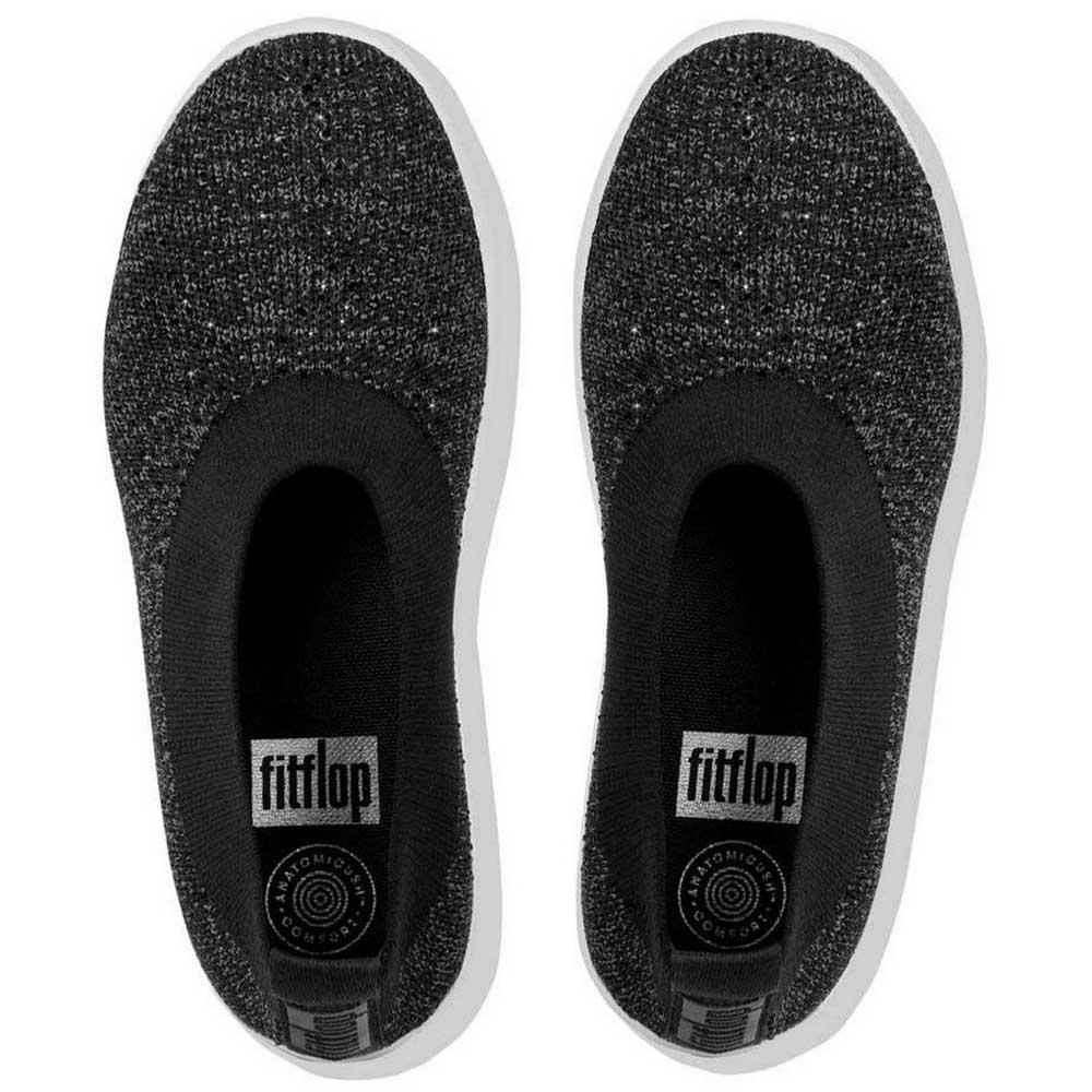 Fitflop Crystal Uberknit Black buy and