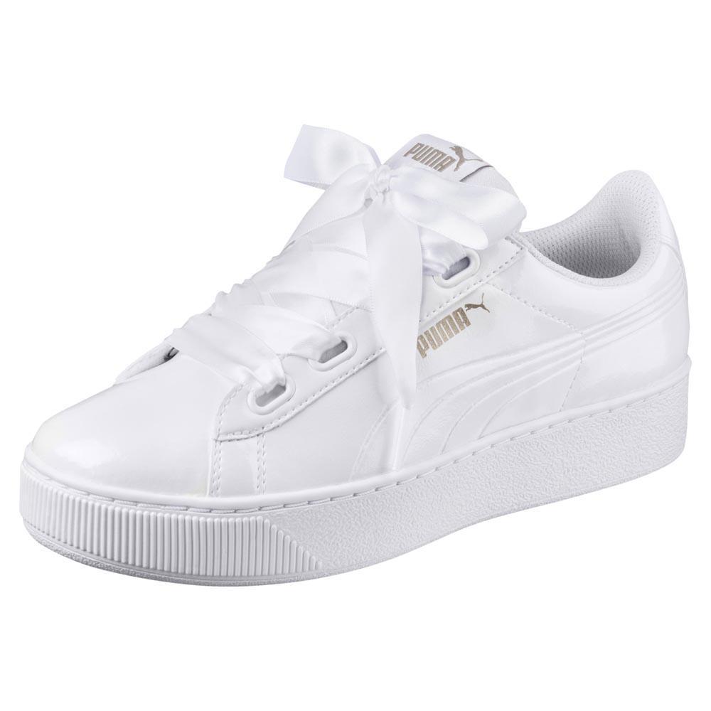 Puma Vikky Platform Ribbon P White buy