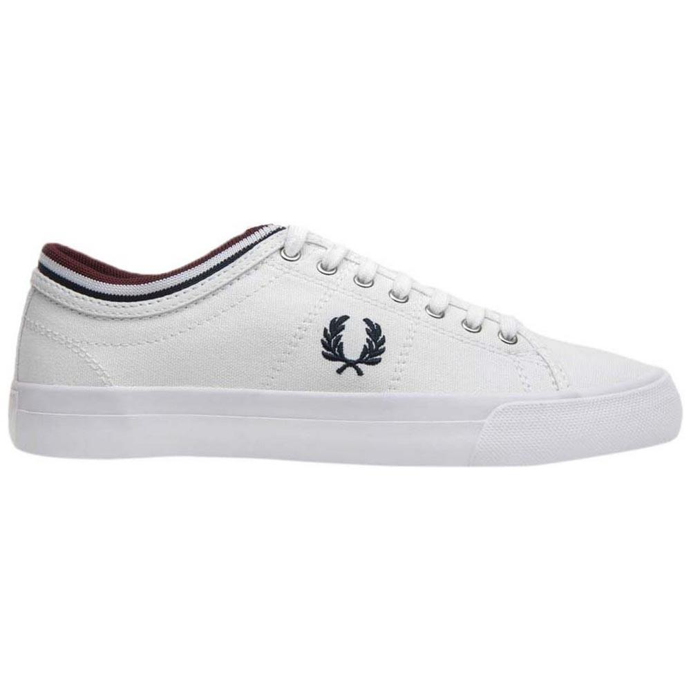 Fred perry Kendrick Tipped Cuff Canvas White 215cf00734