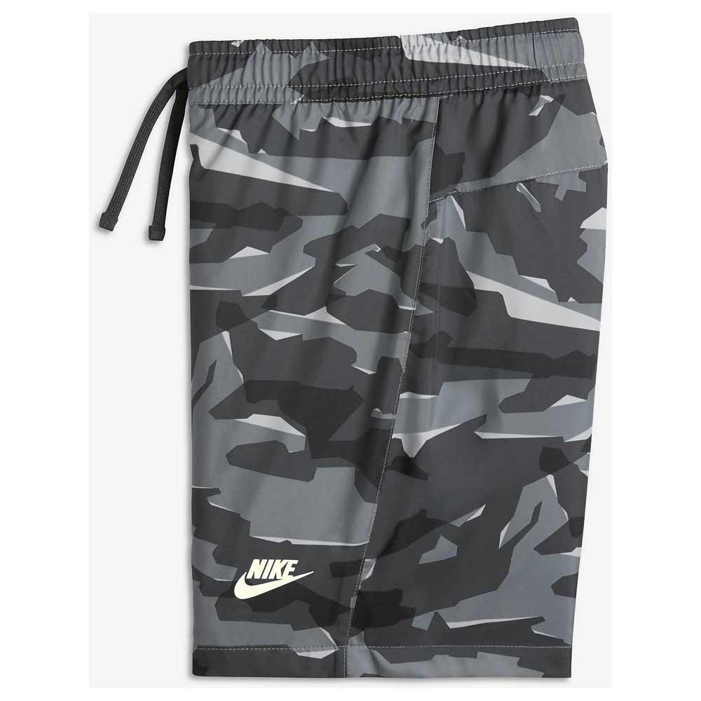 Nike Sportswear Woven Camo Blue buy and offers on Dressinn