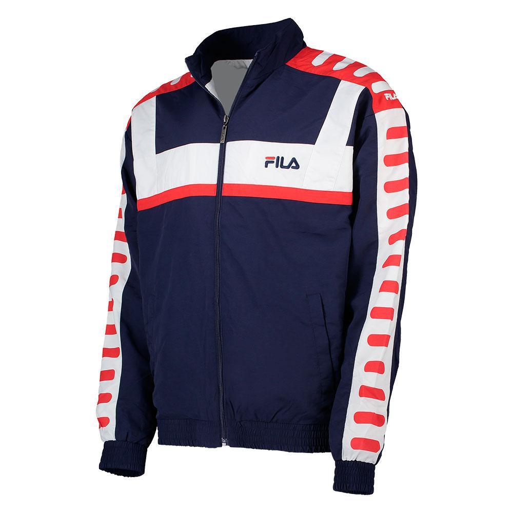 126a86e0803c Fila Devin Woven Jacket Blue buy and offers on Dressinn
