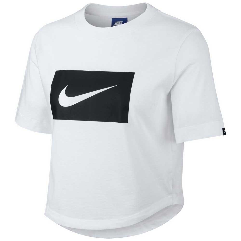 timeless design caa86 e25e5 Nike Sportswear Crop Swoosh White buy and offers on Dressinn