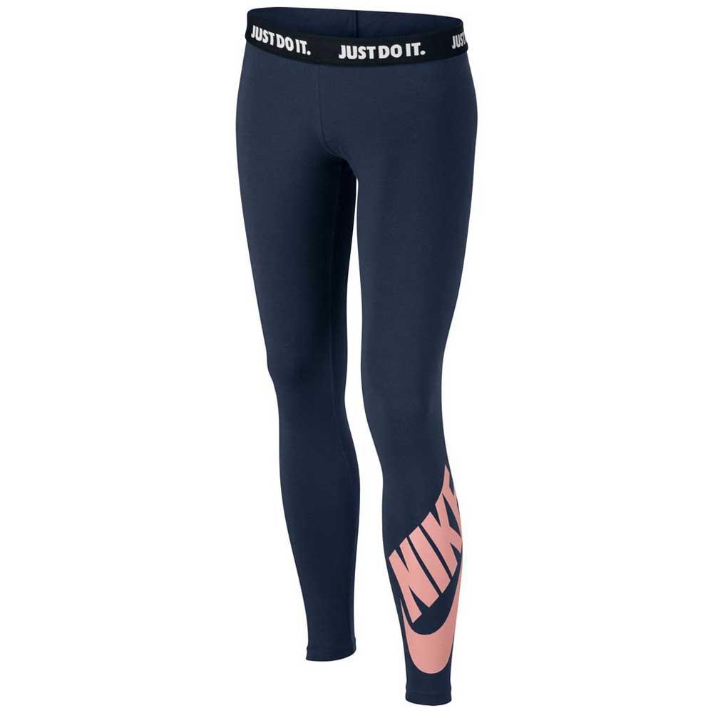 Nike Sportswear Leg A See Logo Legging Blauw, Dressinn Broeken