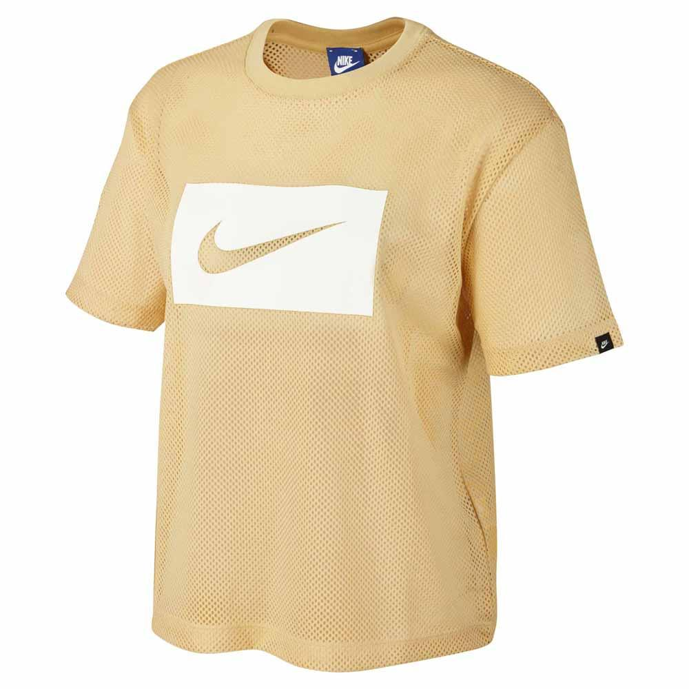 finest selection 98def ca3b7 Nike Sportswear Swoosh Mesh Yellow buy and offers on Dressinn