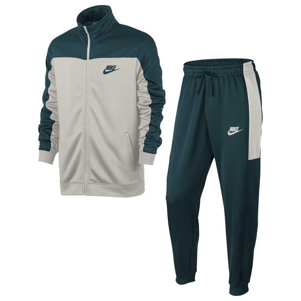 Nike Sportswear Tracksuit Green buy and offers on Dressinn