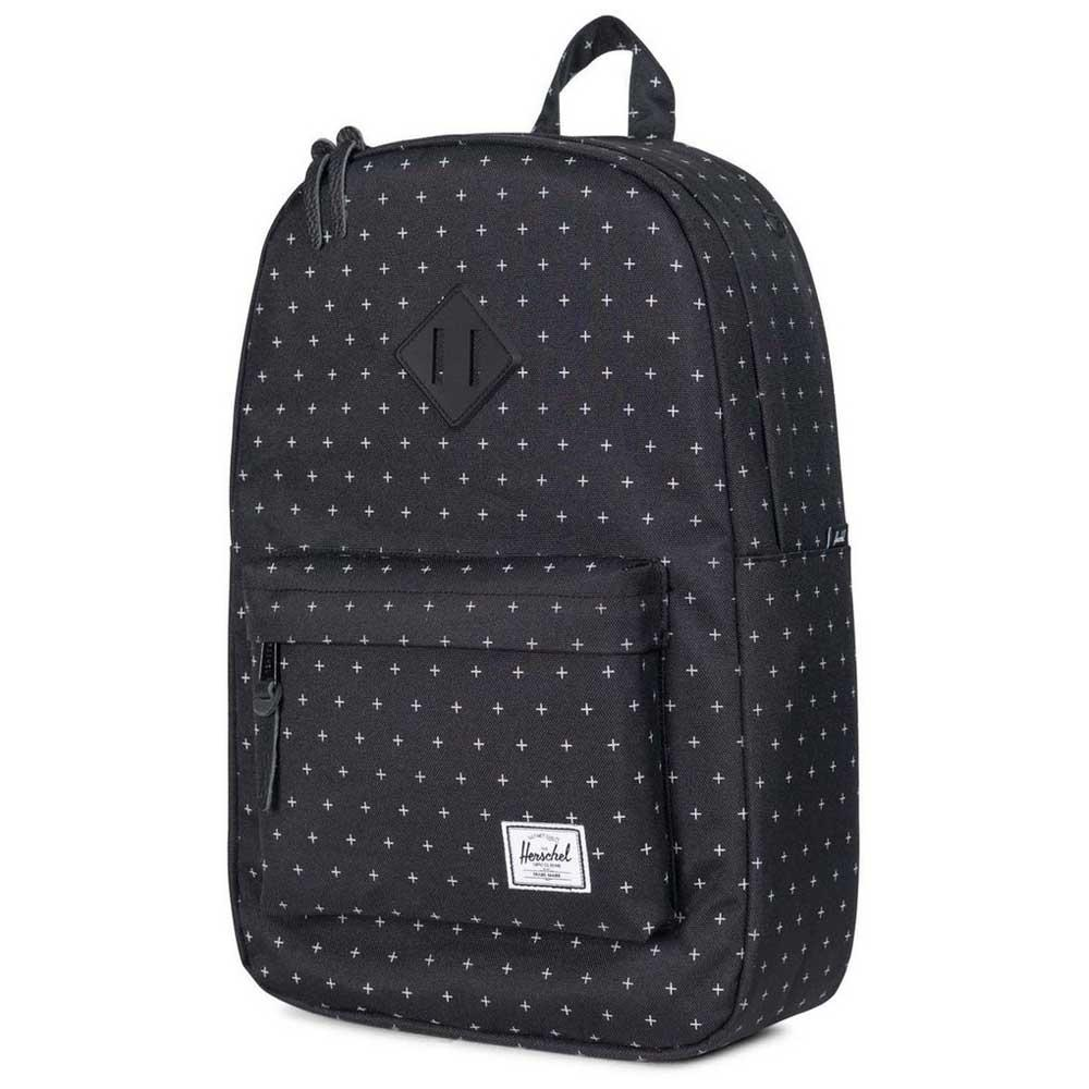 Herschel Heritage Mid-Volume Black buy and offers on Dressinn 016949df377a4