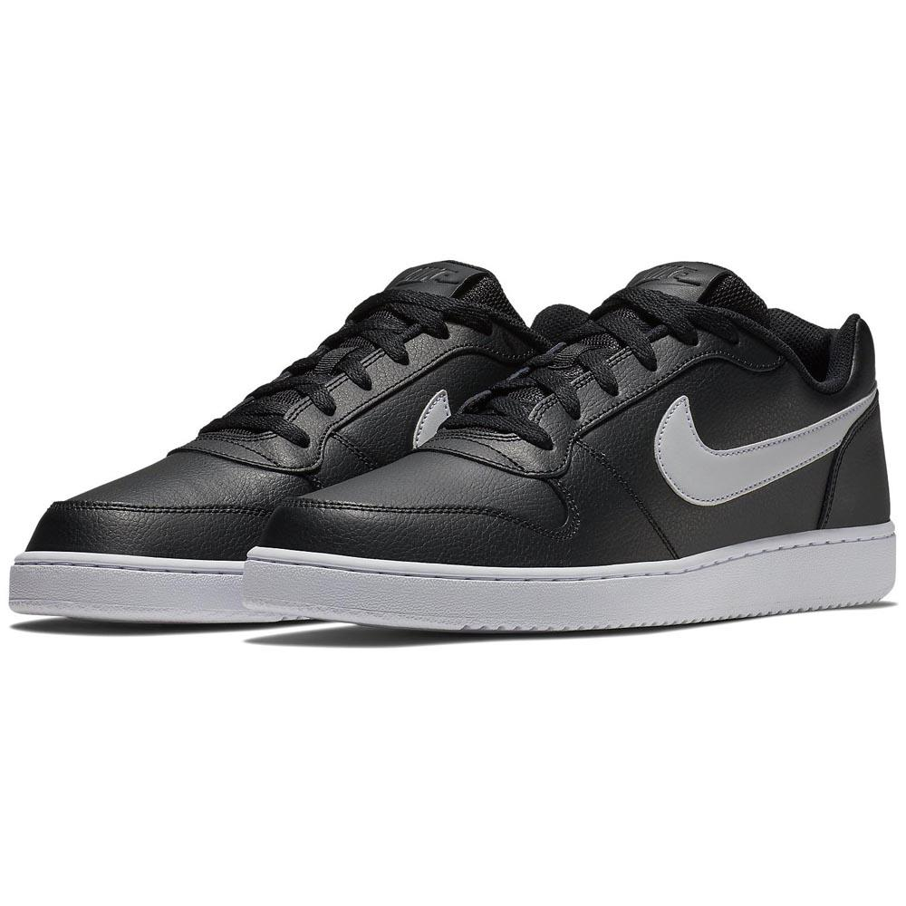 Nike Ebernon Low Black buy and offers on Dressinn 4669f0962a