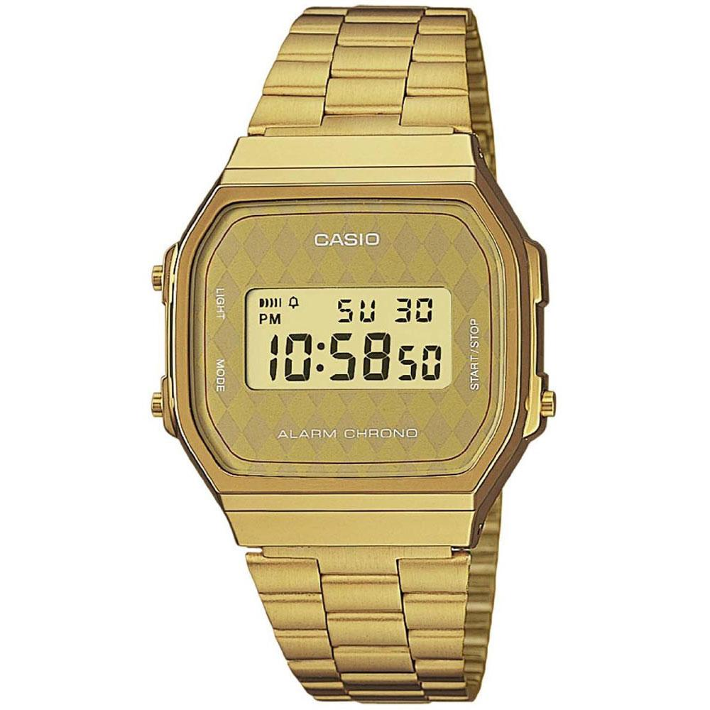 587e5f5a6b05 Casio Retro Vintage A168WG Golden buy and offers on Dressinn