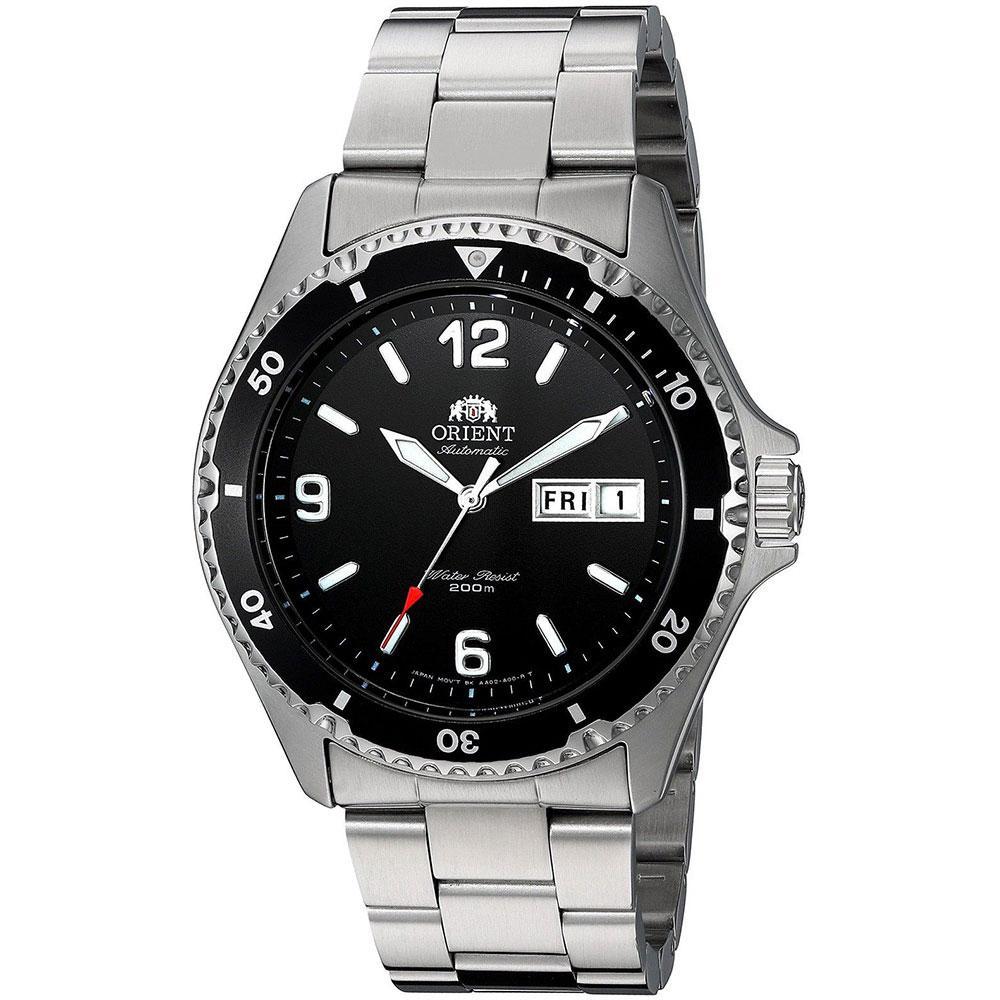 Orient watches Mako II FAA02001B3 Svart, Dressinn Klokker