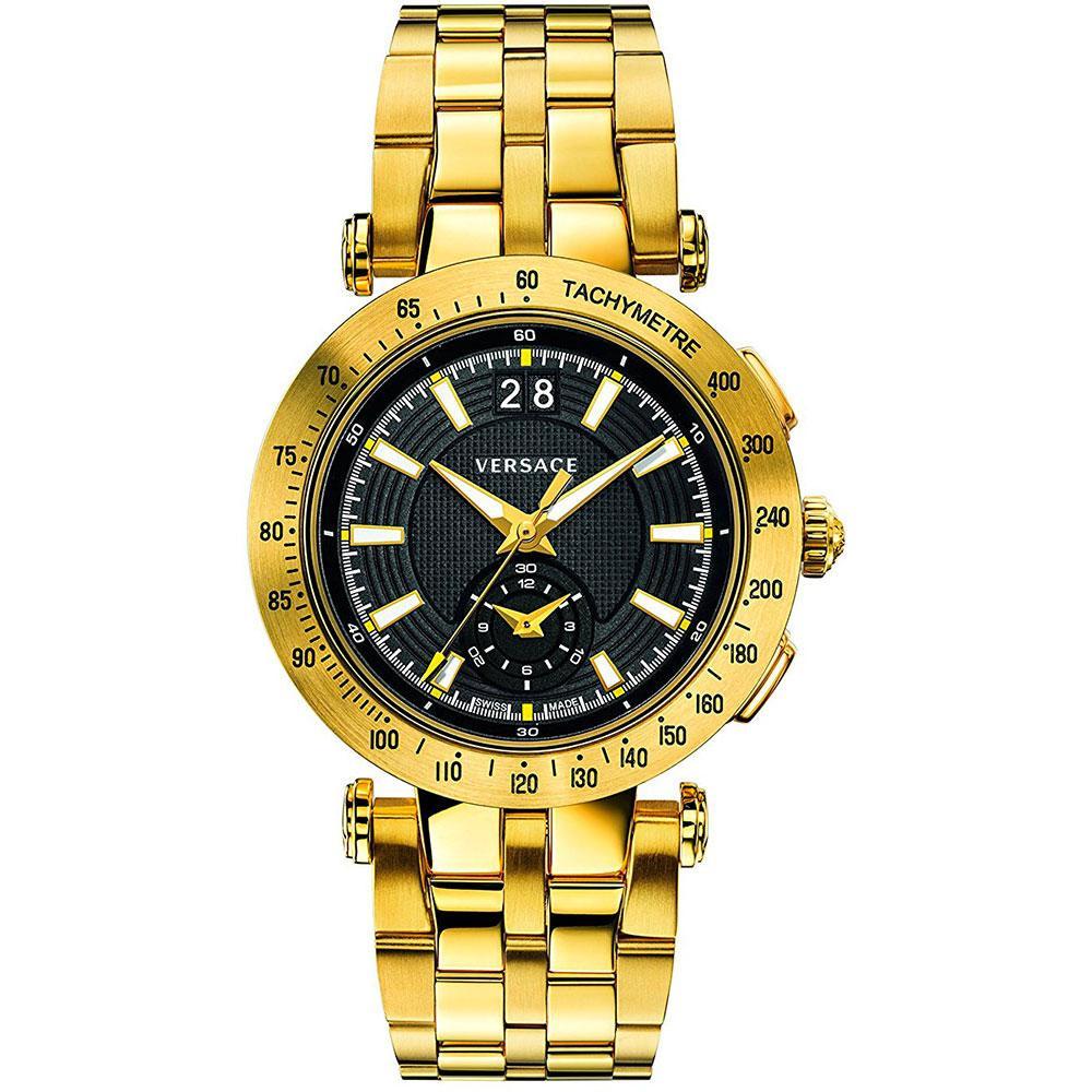 Ultramoderne Versace watches VAH070016 Gyllen kjøp og tilbud, Dressinn Klokker CV-41