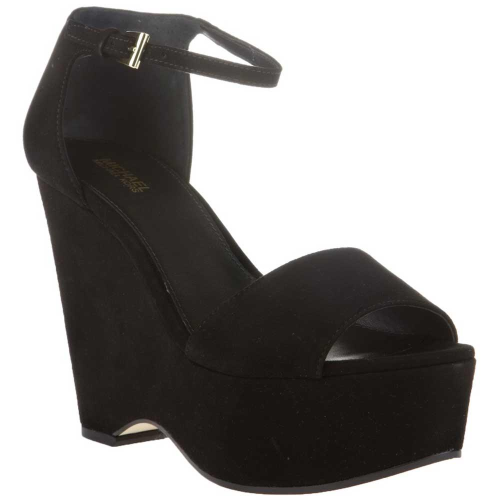 b4e8535537 Michael kors Claire Mid Wedge Black buy and offers on Dressinn