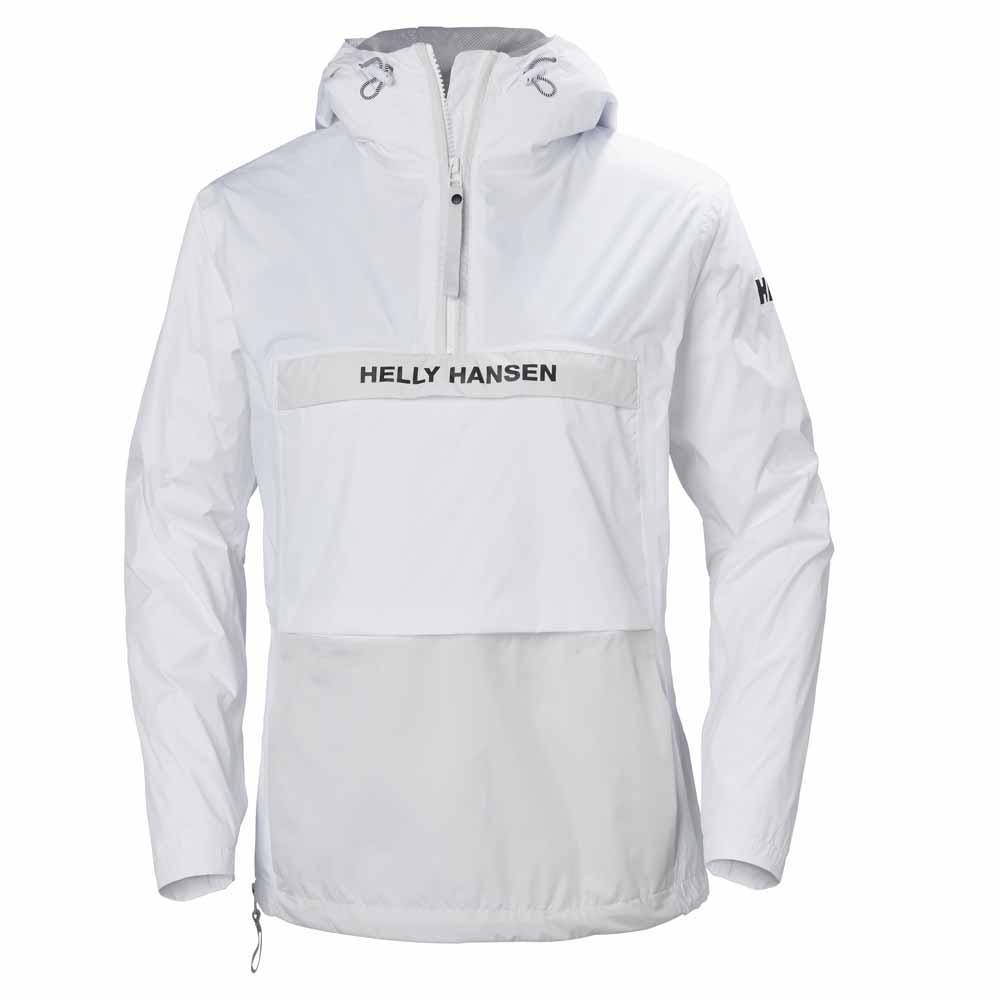 różne wzornictwo najlepiej sprzedający się super tanie Helly hansen Active Anorak Biały kup i oferty, Dressinn ...