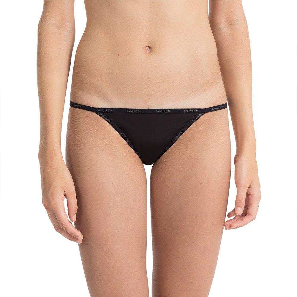 d51ac7ba98c6 Calvin klein Sheer Marquisette Bikini Black, Dressinn