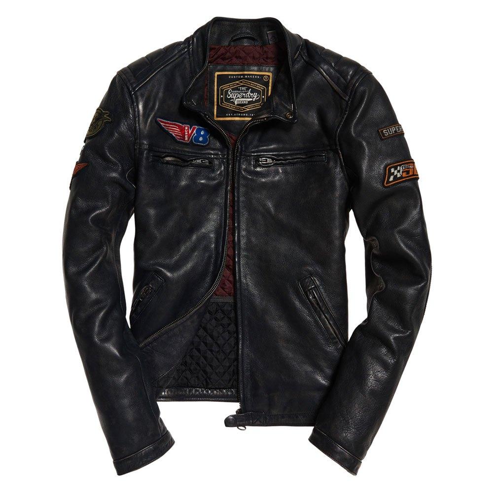 0c87c2c841fb Superdry Endurance Road Trip Leather Nero