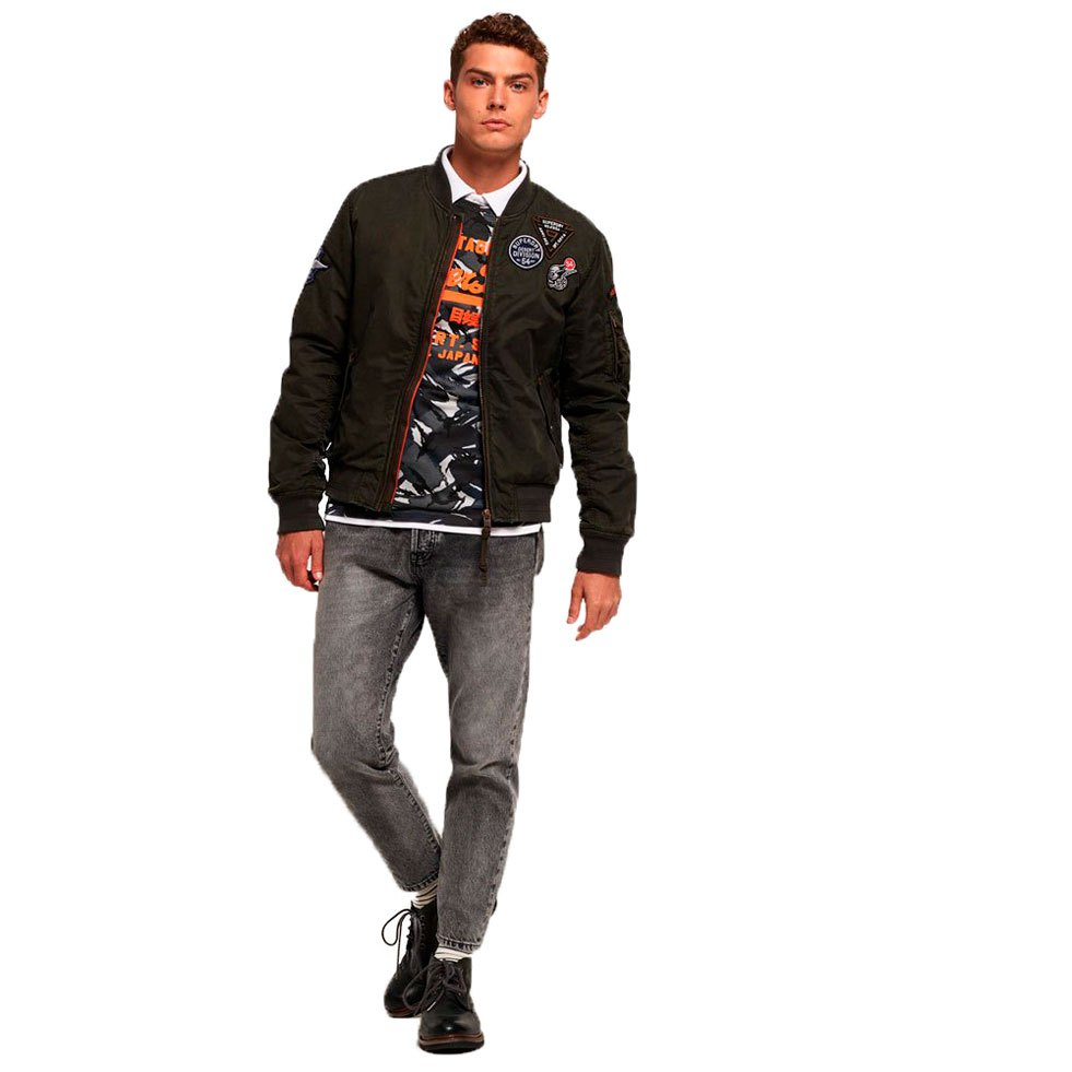 1e8e52938b794 ... Superdry Limited Issue Flight Bomber ...
