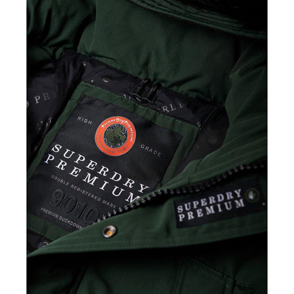 Superdry Premium Ultimate Down Parka Vert, Dressinn