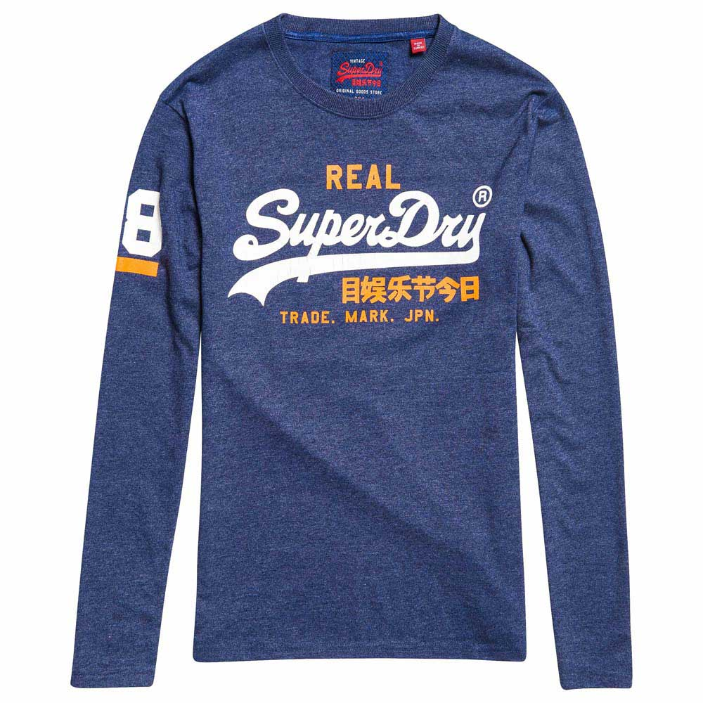 49b6ed29b Superdry Vintage Logo Duo Blue buy and offers on Dressinn