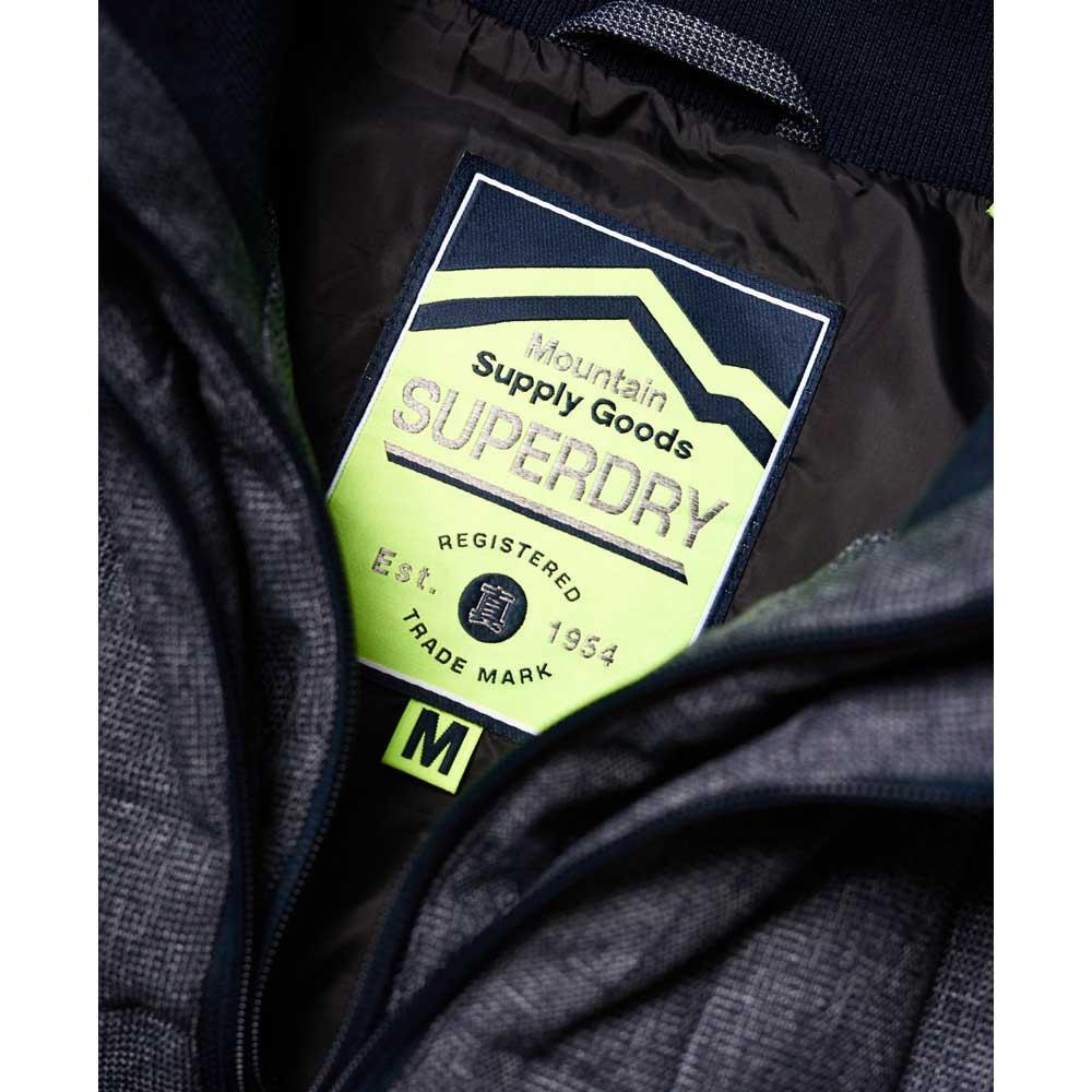 Gilets Superdry Fuji Double Zip Tweed Vest