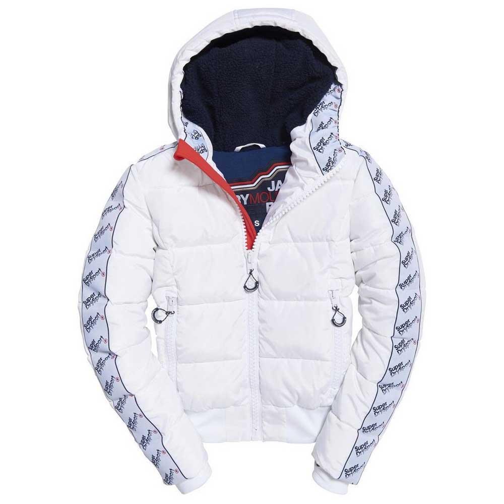 03ac4ac1399 Superdry Streetwear Repeat Puffer Hvid køb og tilbud, Dressinn