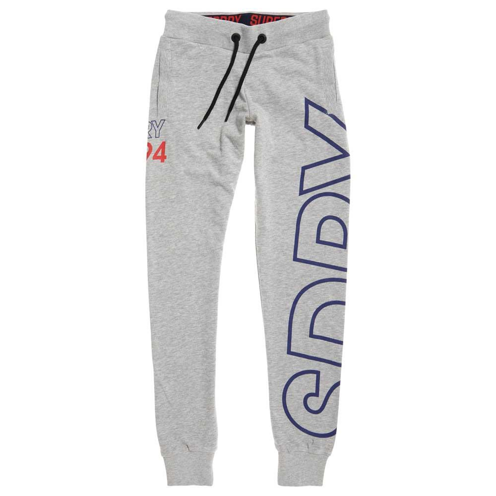 854847bc Superdry Ace Jogger Grey buy and offers on Dressinn