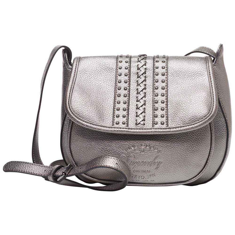 Superdry Sofia Cross Body Silver buy and offers on Dressinn 78c06a1cd85db