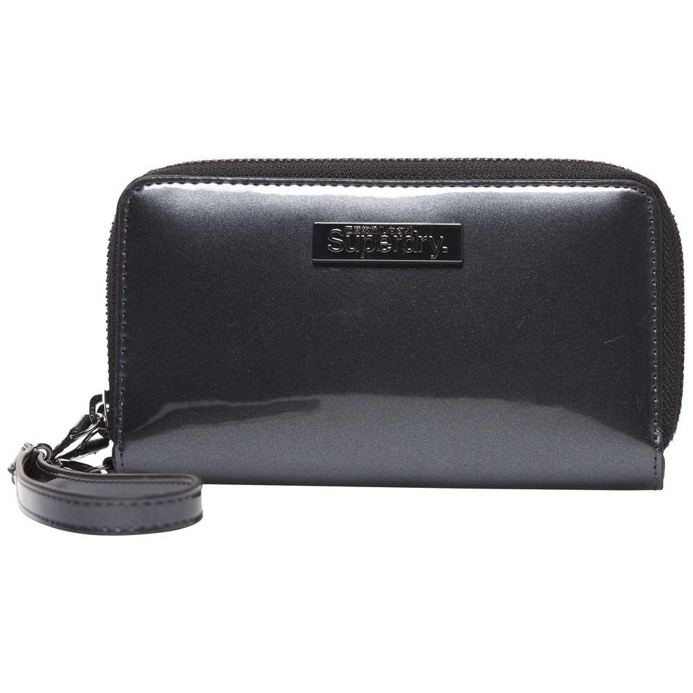 01d6b0c6c3 Superdry Patent Purse Black buy and offers on Dressinn