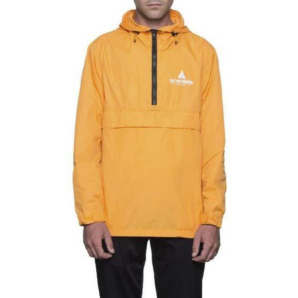 Huf Peak Anorak Amarelo comprar e ofertas na Dressinn Casacos