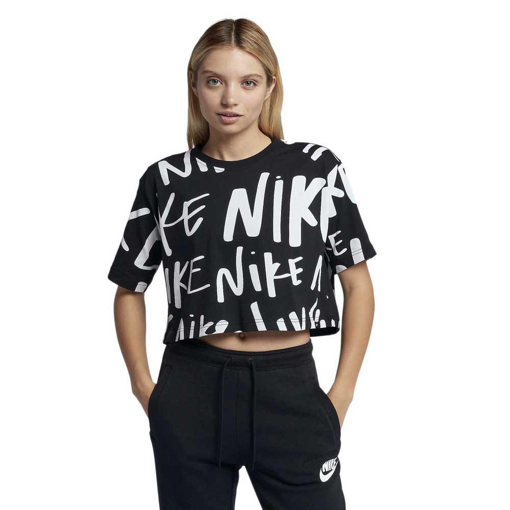 competitive price e68ac 561be Nike Sportswear AOP Crop White buy and offers on Dressinn