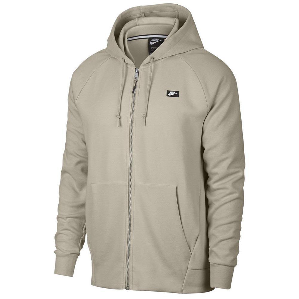Nike Sportswear Optic Full Zip Hooded Beige, Dressinn
